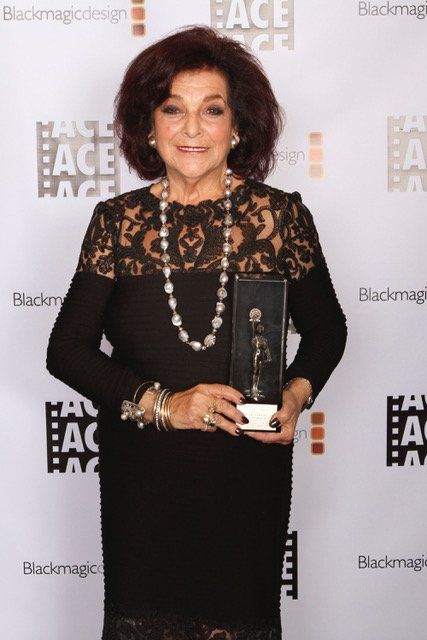 Diana Friedberg with Heritage Award