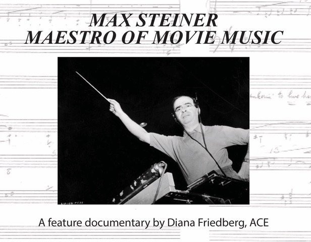 Image of Max Steiner directing orchestra