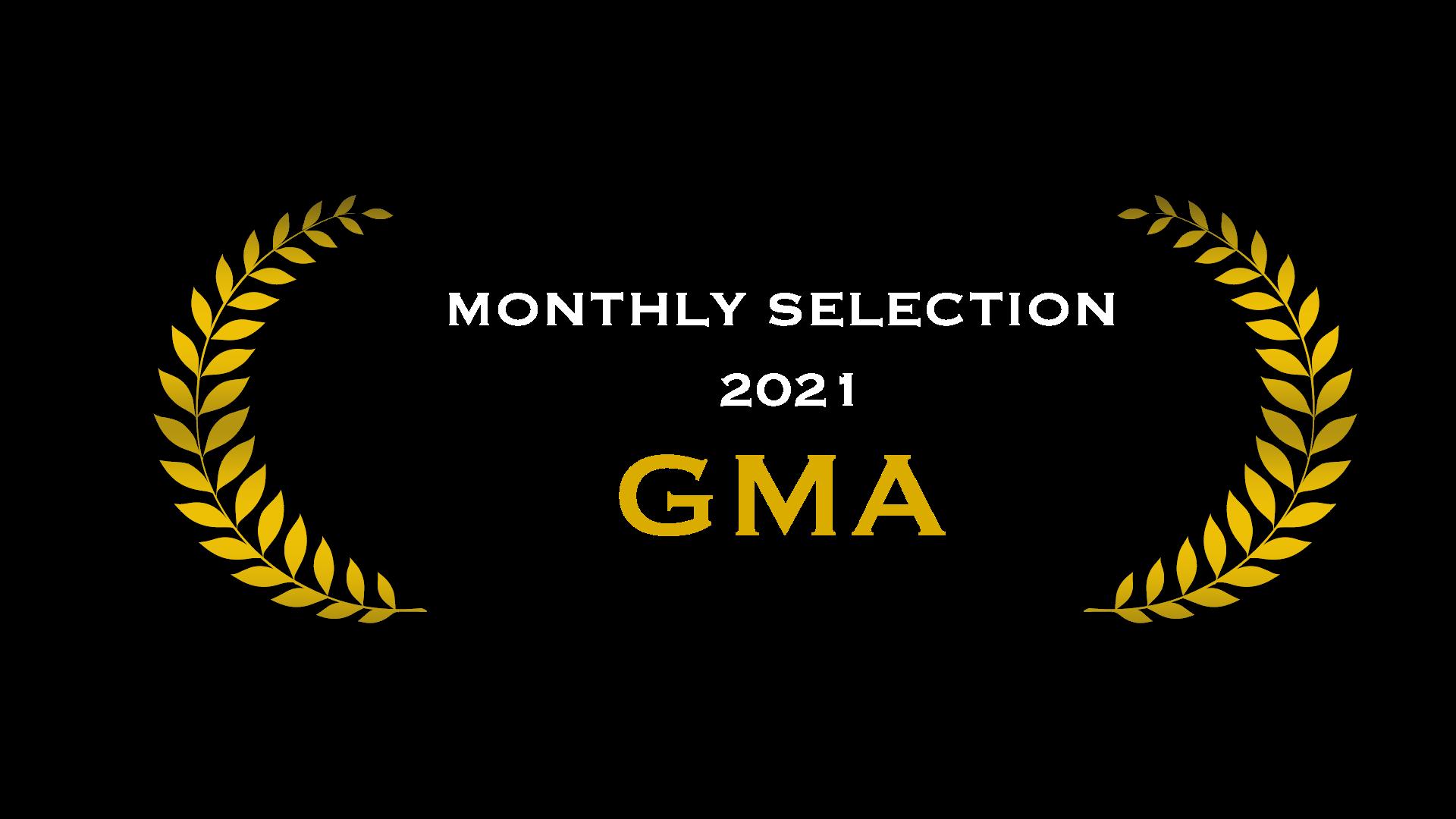 GMA Official selection 2021 Award Icon