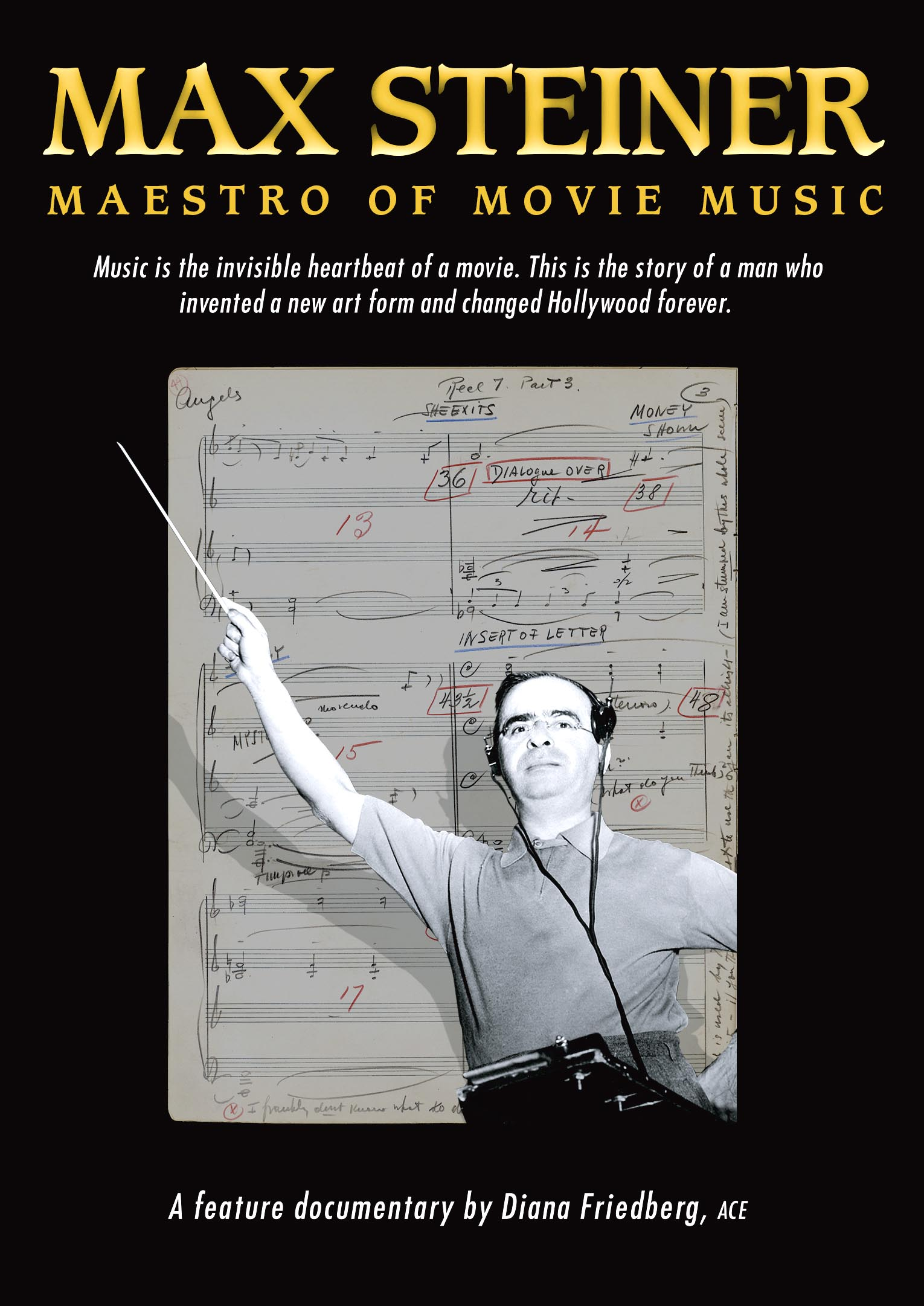 Front Cover of Max Steiner Documentary Film Video