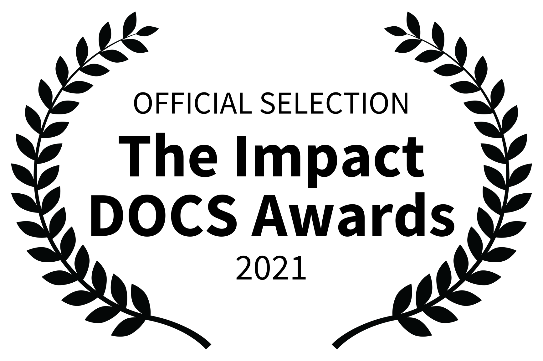OFFICIAL SELECTION - The Impact DOCS Awards - 2021